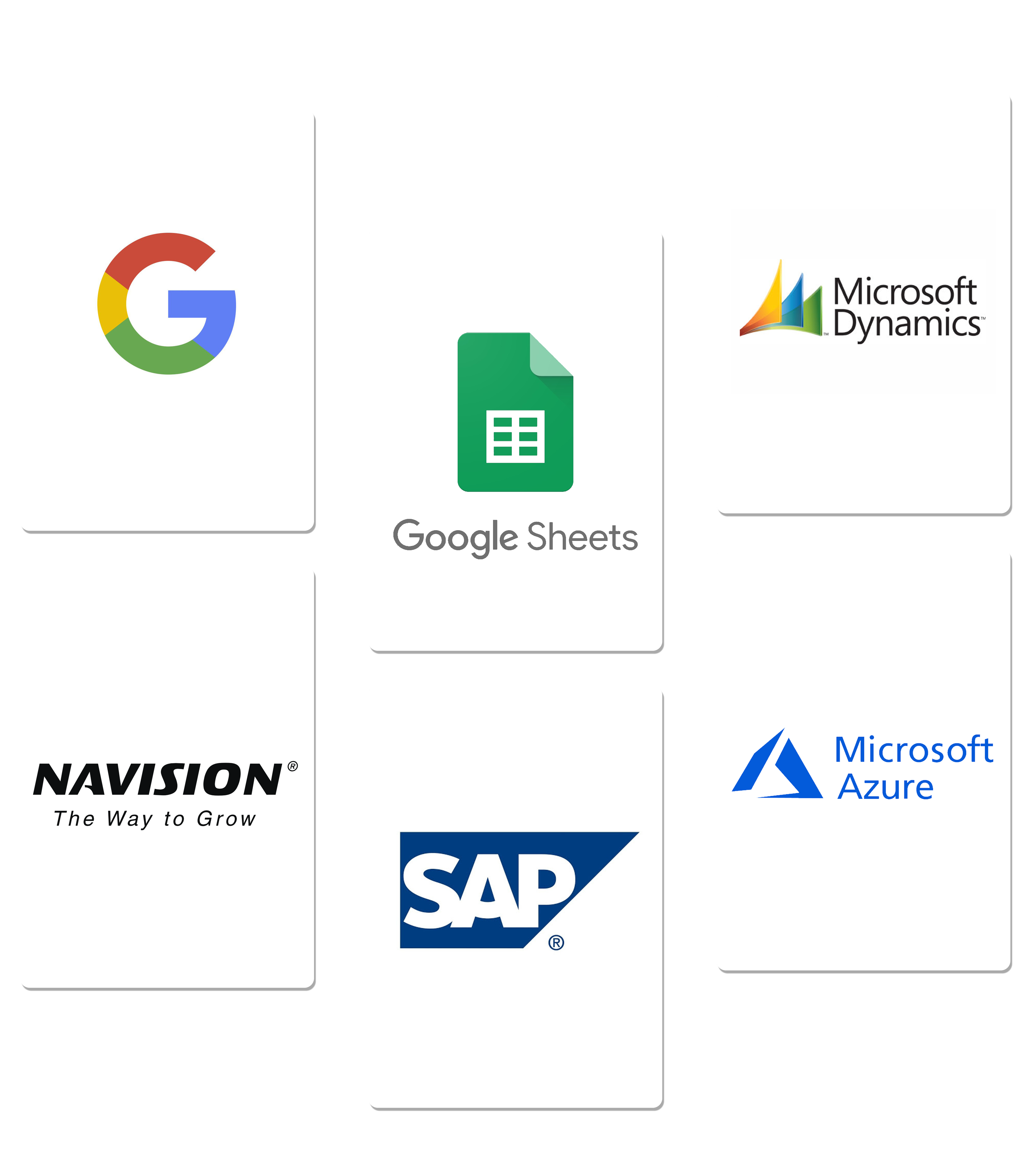 CMMS software that integrates with Google, Microsoft Dynamics and world's top tools.